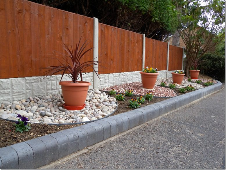 EcoLat Garden Edging Project Finished