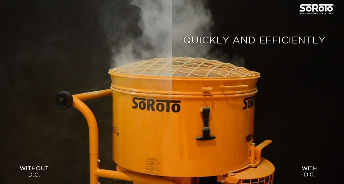 With & Without A Dust Eliminator