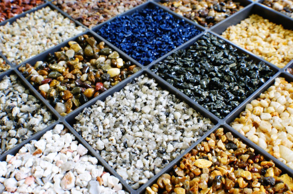 Resin Bound Gravel Samples