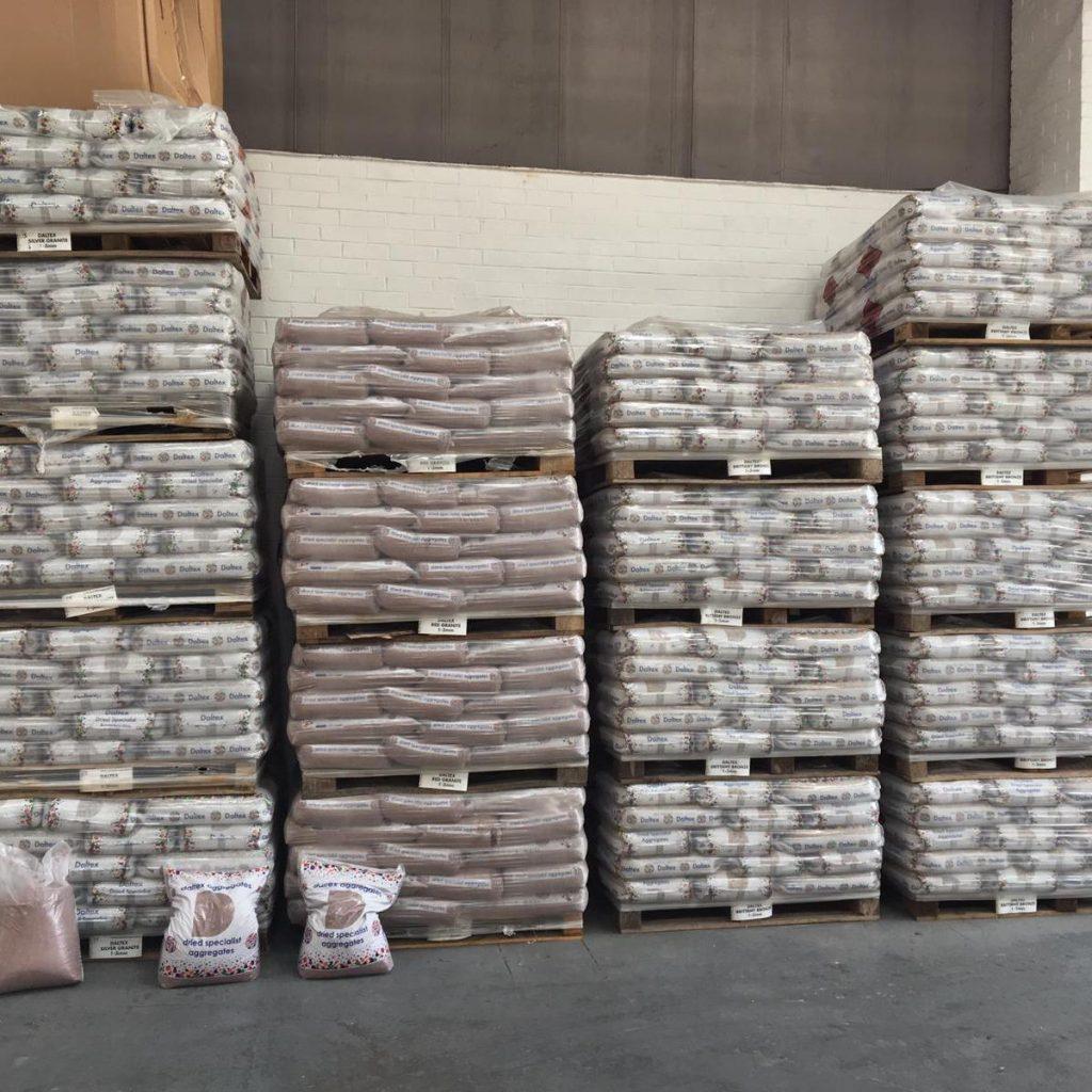 Resin Bound Gravel In Warehouse