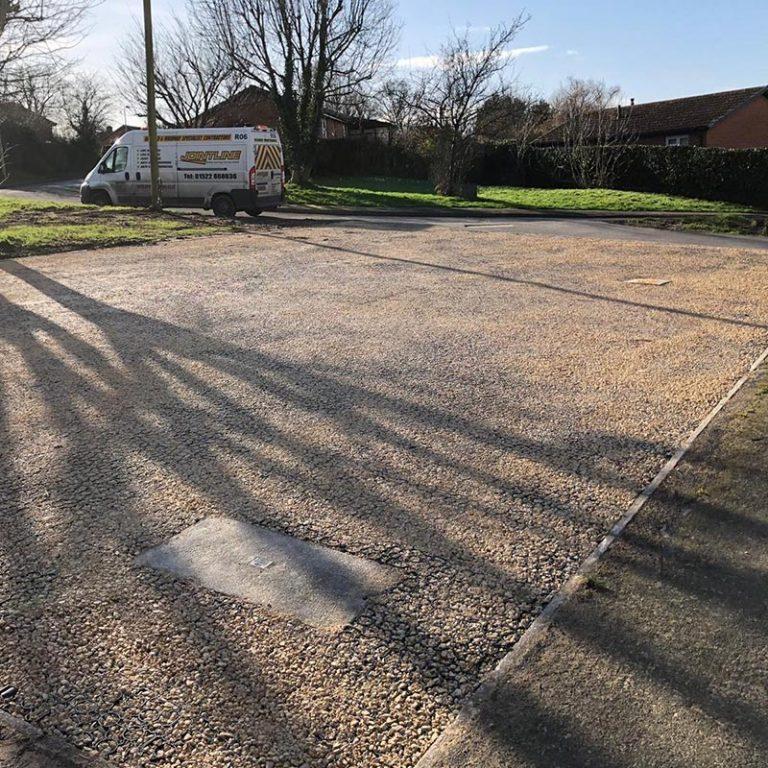 Jointline X-Grid Car Park Installed