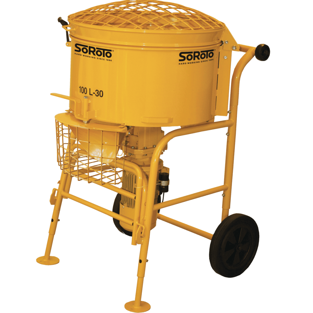 Where are Soroto 100L Forced Action Mixers used?
