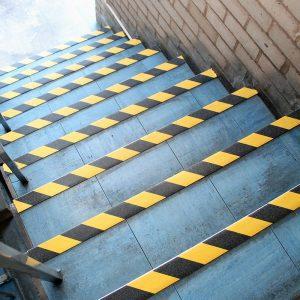 Gripfoot is used in stair nosings