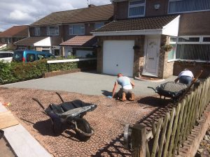X-Grid Installation: Laying The Gravel