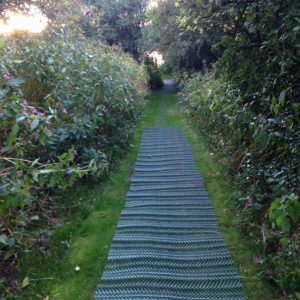 TurfMesh used as a pathway