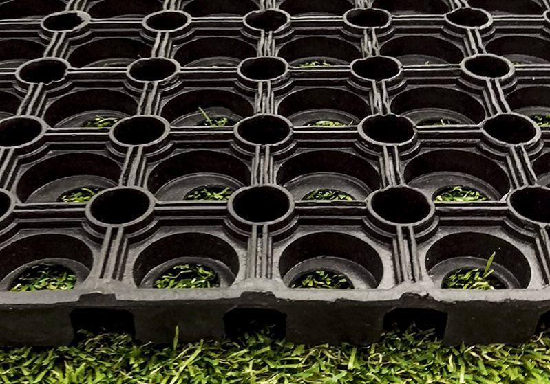 Product Spotlight: Rubber Grass Mats