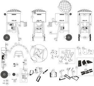 SoRoTo 100L Spare Parts