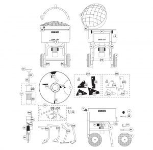 SoRoTo 200L Spare Parts