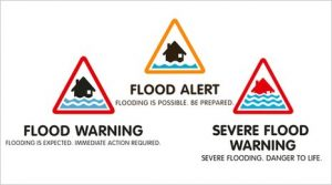The current Flood Warning Codes were introduced by the Environment Agency in 2010