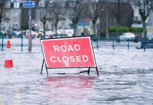 The Environment Agency issues three levels of flood alert for surface flooding