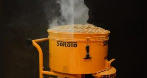 SoRoTo dust controller in use