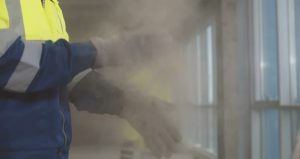 Dust can easily escape into the atmosphere without the use of a dust controller