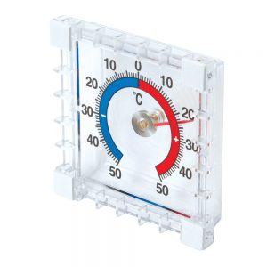 Indoor and Outdoor Stick-On Thermometer