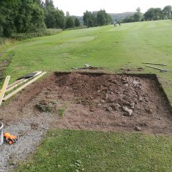 Ground-Excavated-Framework-In-Place-1st-All-Weather-Tee