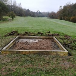 Ground-Excavated-Framework-In-Place-2nd-All-Weather-Tee
