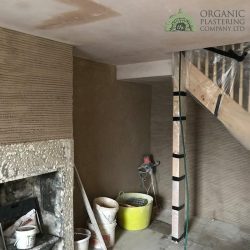 Organic-Plastering-Lime-Putty-Plaster-Installed-In-Cottage