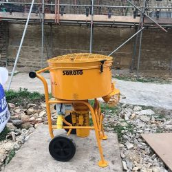 SoRoTo 120L Forced Action Mixer On Site