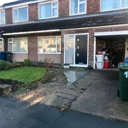 West Bridgford Landscaping Ltd - X-Grid Gravel Driveway Before