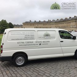 Organic Plastering Company Van - SoRoTo Testimonial