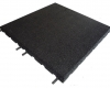 Rubber Play Tile Black