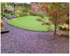 LawnEdge Plastic Roll Lawn Edging in Garden