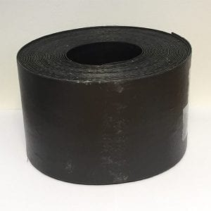 Lawn Edging Roll Black Plastic - 125mmx15m