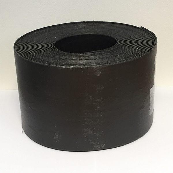 Lawn Edging Roll Black Plastic - 125mmx15m