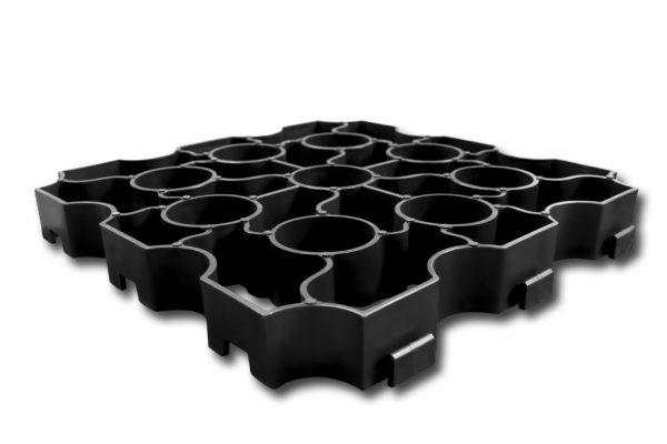 Black X-Grid Single