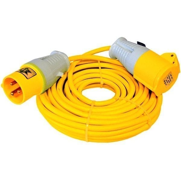 16amp 110v Extension Lead - 14m