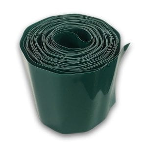 Green Plastic Lawn Edging 165mm x 10m