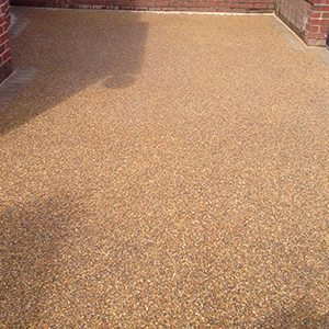 Resin Bound Gravel Surfacing - Gravels, Binders & Tools