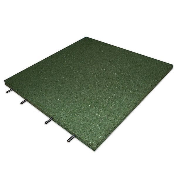 Rubber-Play-Tiles-Interlocking-Green