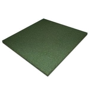 Rubber-Play-Tiles-Non-Interlocking-Green