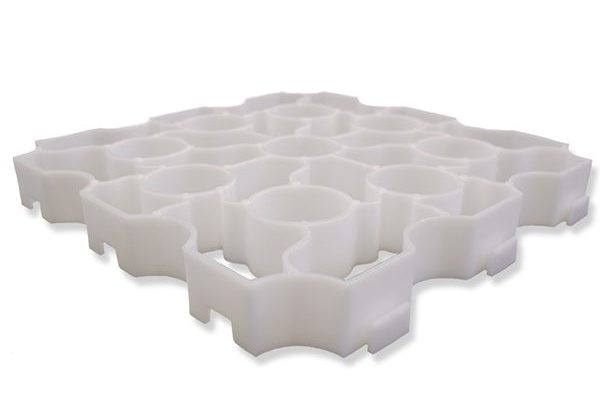 White-X-Grid-Single-Panel