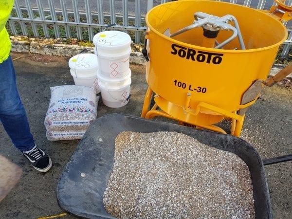 Soroto 100L in use