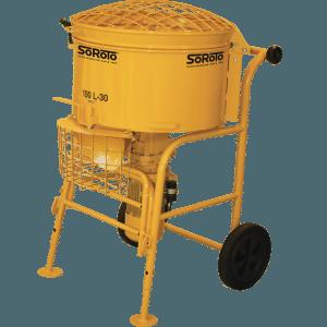 Resin Bound Mixer SoRoTo 100L Forced Action Mixer