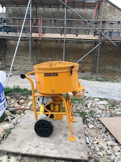 Soroto 120L in use