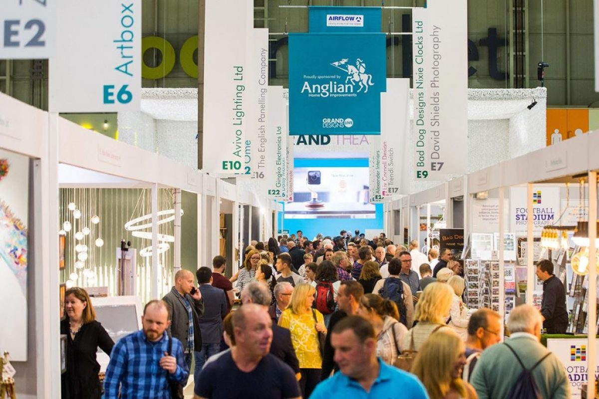 About Grand Designs Live – Stalls And Exhibits