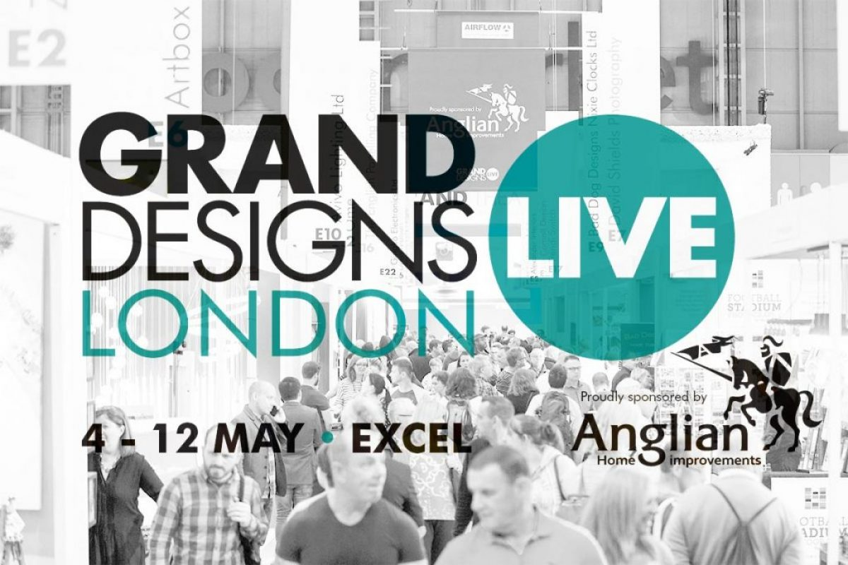Grand Designs Live Picture With Logo