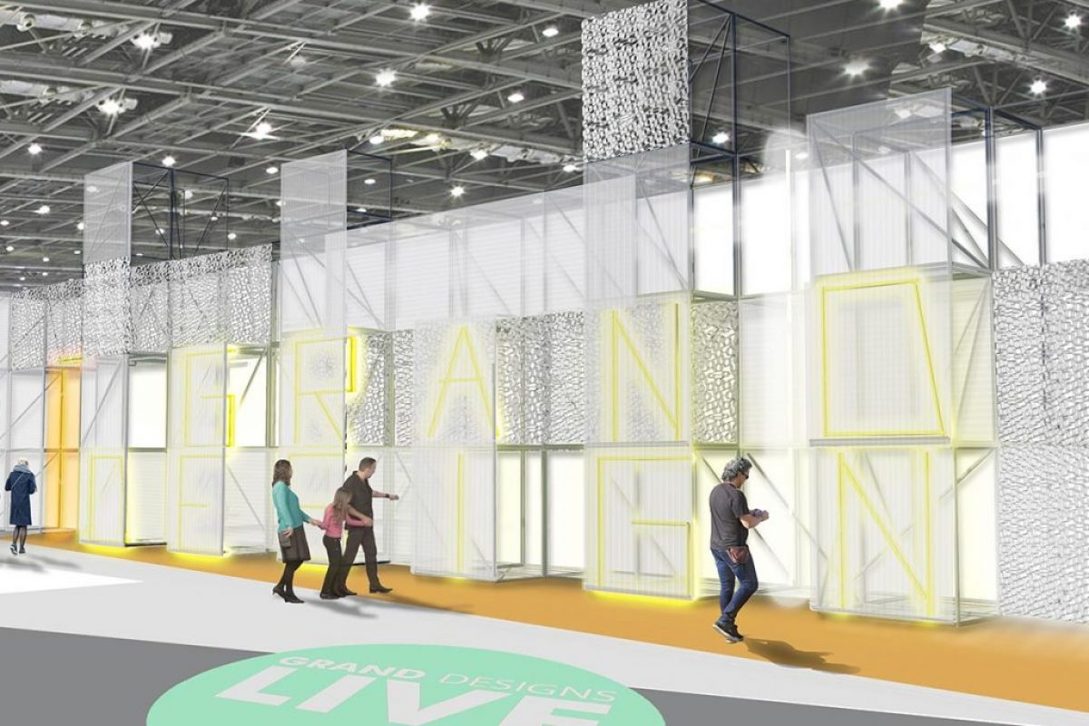 Grand Designs Live – X-Grid Hero Recycled Product