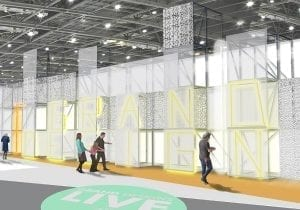 X-Grid - Hero Recycled Product Used At Grand Designs Live
