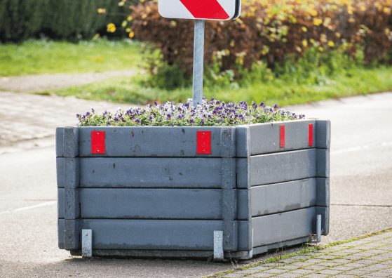 Birley Planter - Reflectors
