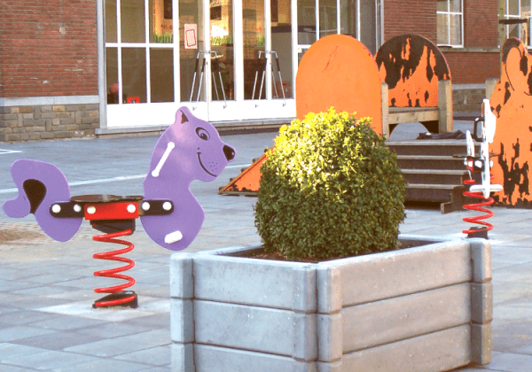 Birley Planter - Playground
