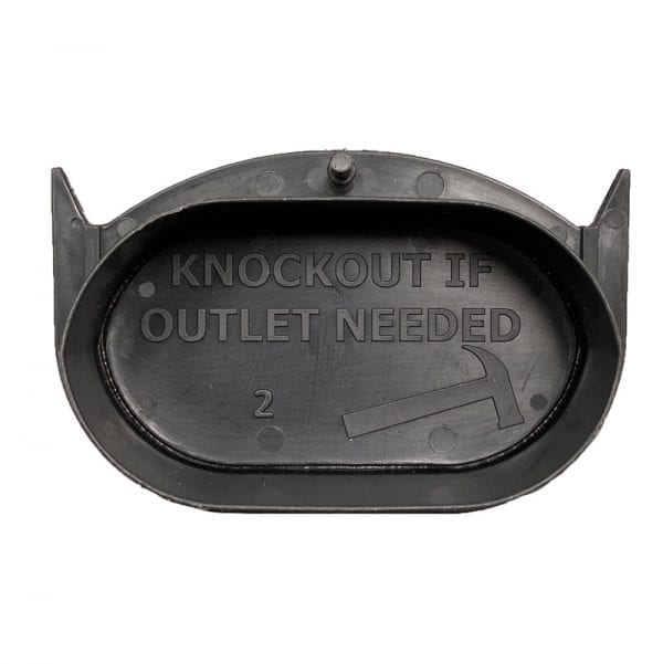 RecoDrain Blank End With Knockout - Back