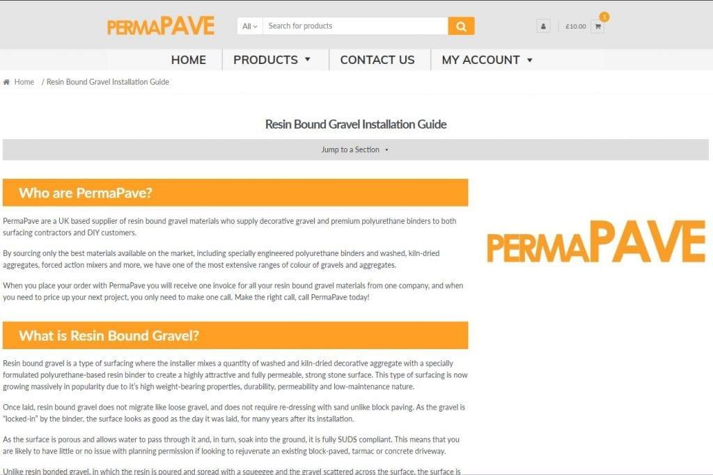 Resin Bound Gravel Installation Guide