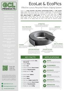EcoLat & EcoPics Spec Sheet