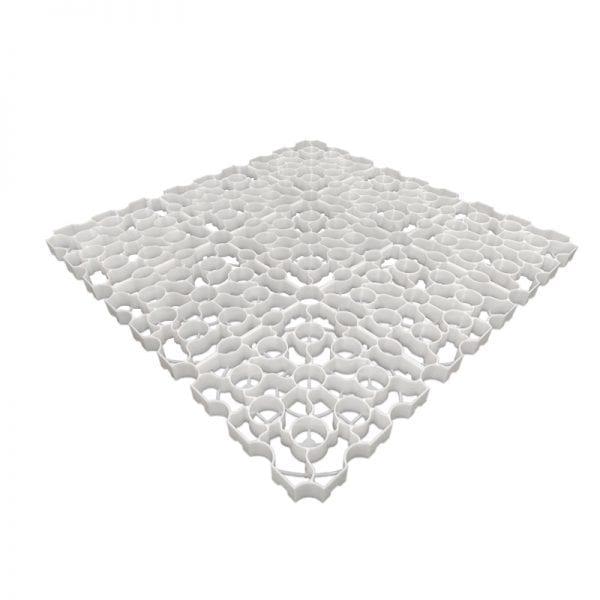 X-Grid White - 1m²