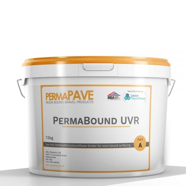 PermaBound UVR Resin Bound Gravel Binder