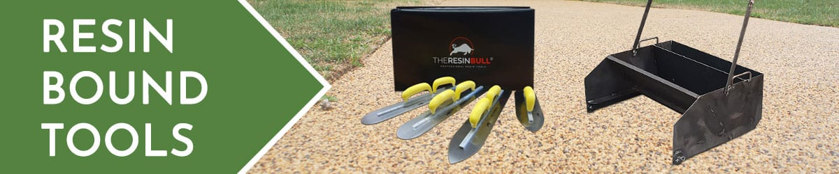 Resin Bound Tools | Trowel | Screed Sledge | Kneeling Pad