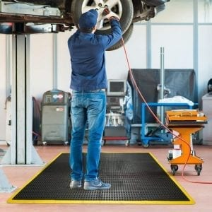 Anti fatigue mats - Coba Bubblemat Connect Non-Slip Flooring